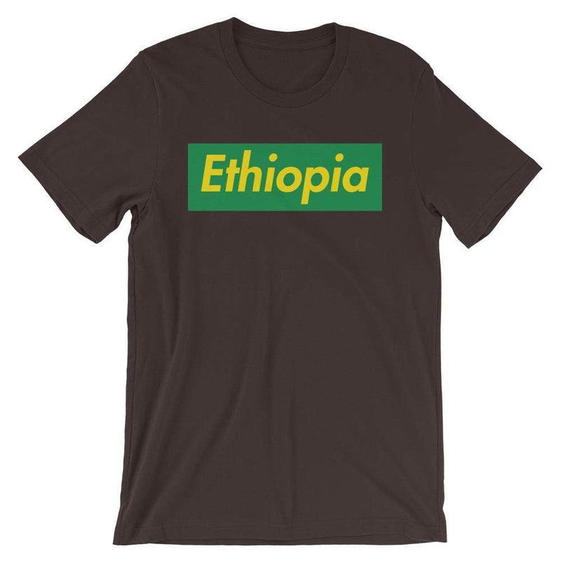 Repparel Ethiopia Brown / S Hypebeast Streetwear Eco-Friendly Full Cotton T-Shirt