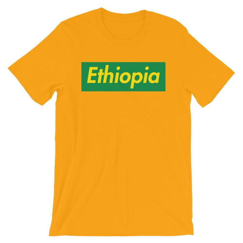 Repparel Ethiopia Gold / S Hypebeast Streetwear Eco-Friendly Full Cotton T-Shirt