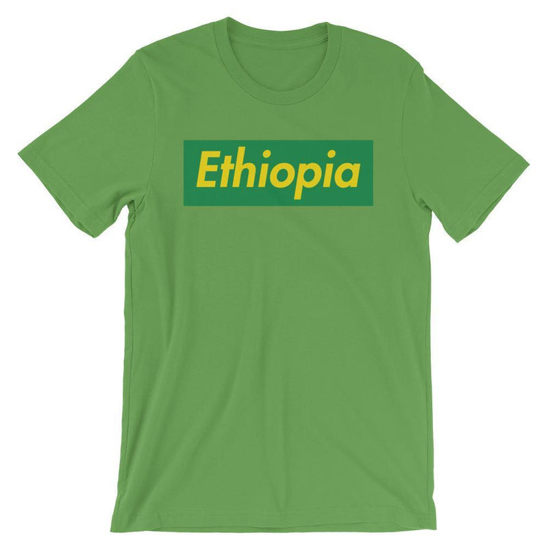 Repparel Ethiopia Leaf / S Hypebeast Streetwear Eco-Friendly Full Cotton T-Shirt