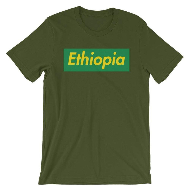 Repparel Ethiopia Olive / S Hypebeast Streetwear Eco-Friendly Full Cotton T-Shirt