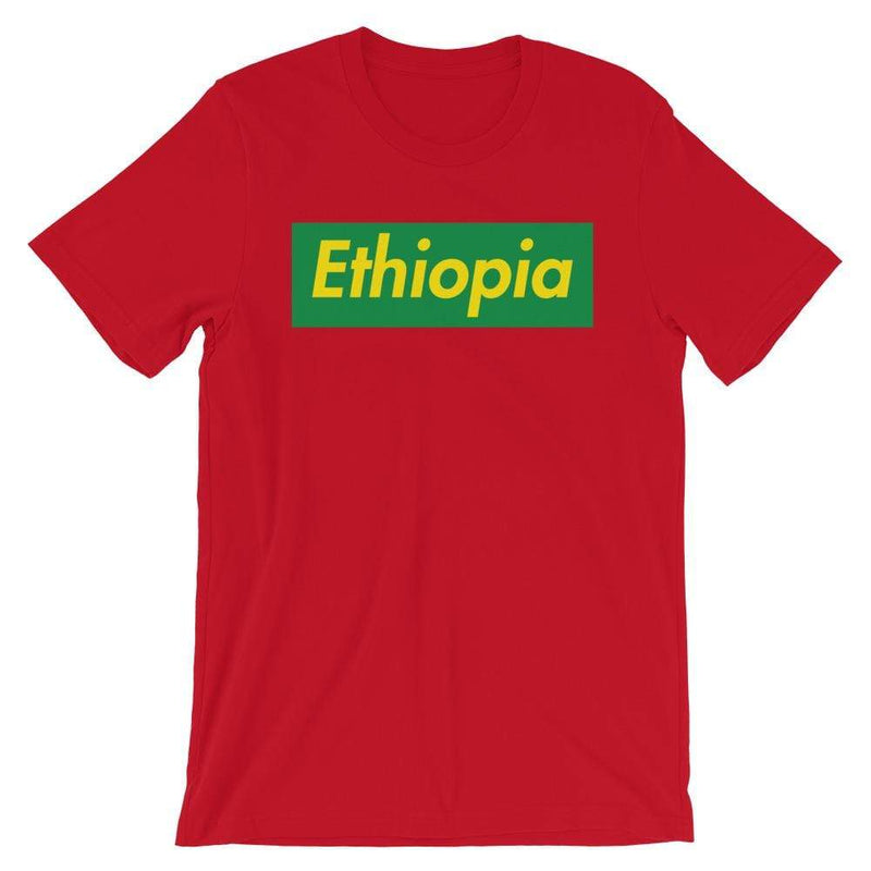 Repparel Ethiopia Red / S Hypebeast Streetwear Eco-Friendly Full Cotton T-Shirt