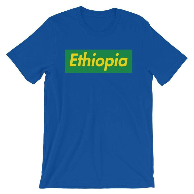 Repparel Ethiopia True Royal / S Hypebeast Streetwear Eco-Friendly Full Cotton T-Shirt