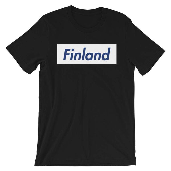 Repparel Finland Black / XS Hypebeast Streetwear Eco-Friendly Full Cotton T-Shirt