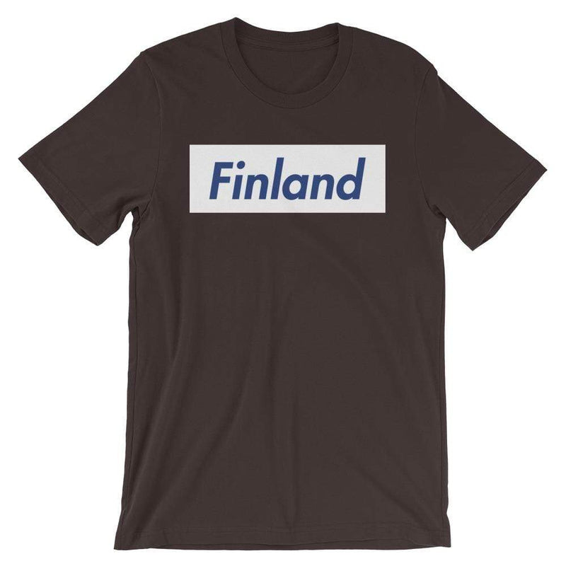 Repparel Finland Brown / S Hypebeast Streetwear Eco-Friendly Full Cotton T-Shirt
