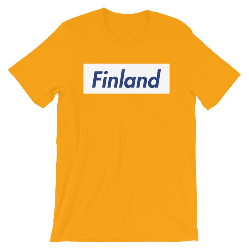 Repparel Finland Gold / S Hypebeast Streetwear Eco-Friendly Full Cotton T-Shirt