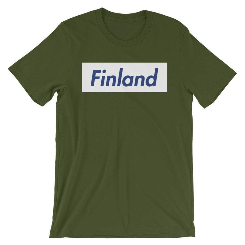 Repparel Finland Olive / S Hypebeast Streetwear Eco-Friendly Full Cotton T-Shirt