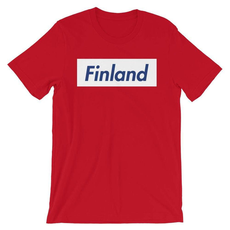Repparel Finland Red / S Hypebeast Streetwear Eco-Friendly Full Cotton T-Shirt