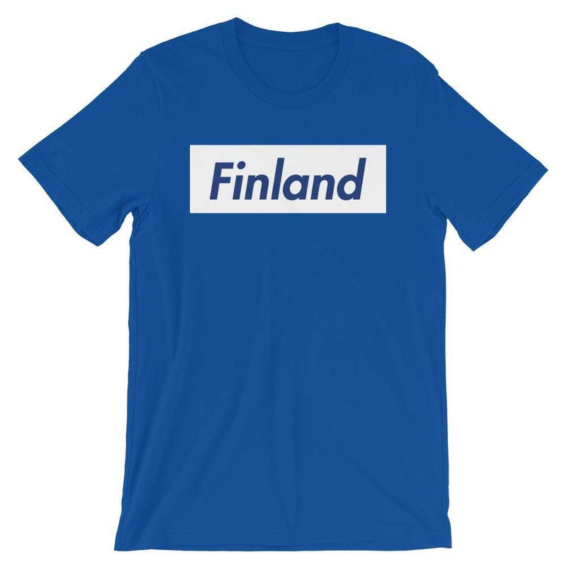 Repparel Finland True Royal / S Hypebeast Streetwear Eco-Friendly Full Cotton T-Shirt