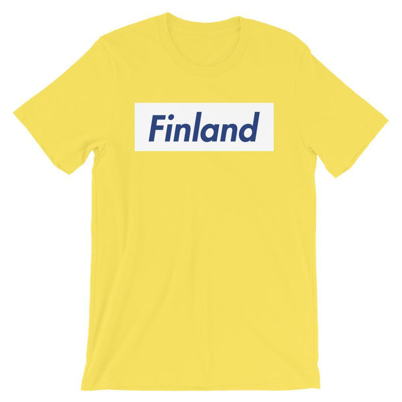 Repparel Finland Yellow / S Hypebeast Streetwear Eco-Friendly Full Cotton T-Shirt