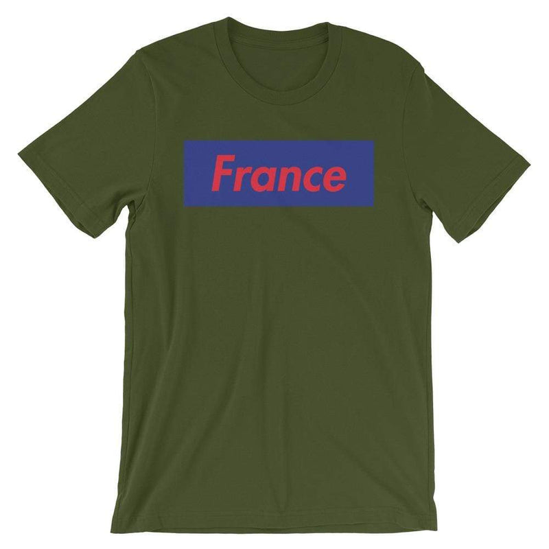 Repparel France Olive / S Hypebeast Streetwear Eco-Friendly Full Cotton T-Shirt