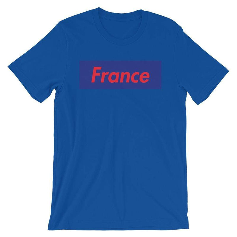 Repparel France True Royal / S Hypebeast Streetwear Eco-Friendly Full Cotton T-Shirt