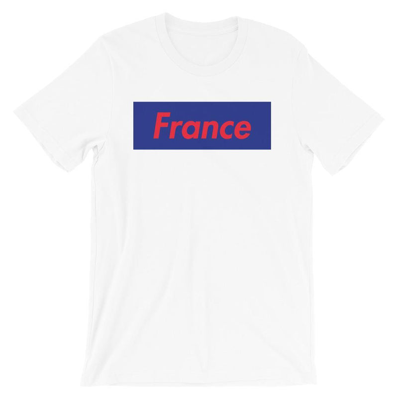 Repparel France White / XS Hypebeast Streetwear Eco-Friendly Full Cotton T-Shirt