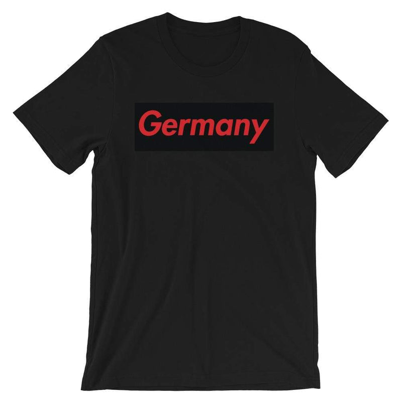 Repparel Germany Black / XS Hypebeast Streetwear Eco-Friendly Full Cotton T-Shirt