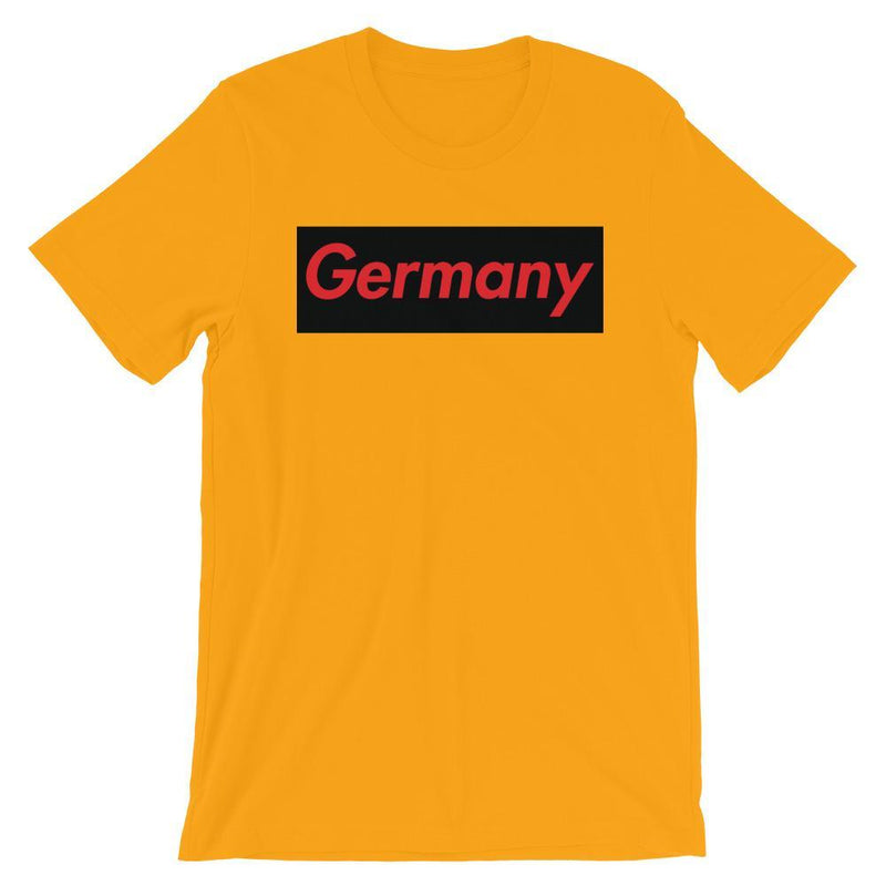 Repparel Germany Gold / S Hypebeast Streetwear Eco-Friendly Full Cotton T-Shirt