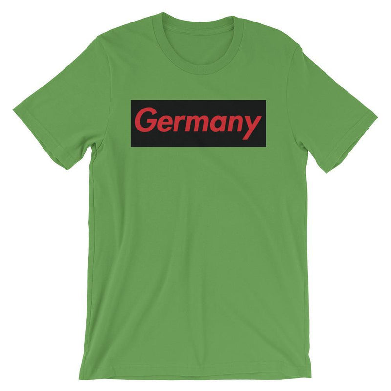 Repparel Germany Leaf / S Hypebeast Streetwear Eco-Friendly Full Cotton T-Shirt