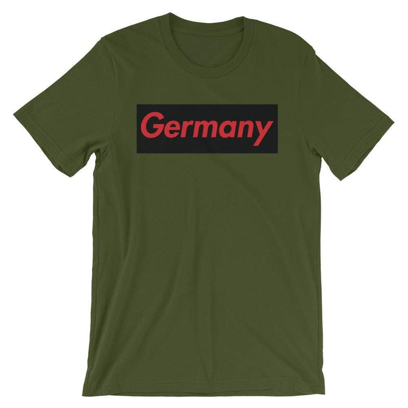Repparel Germany Olive / S Hypebeast Streetwear Eco-Friendly Full Cotton T-Shirt