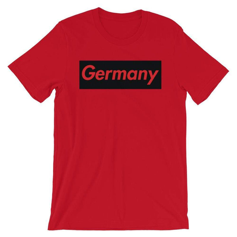 Repparel Germany Red / S Hypebeast Streetwear Eco-Friendly Full Cotton T-Shirt