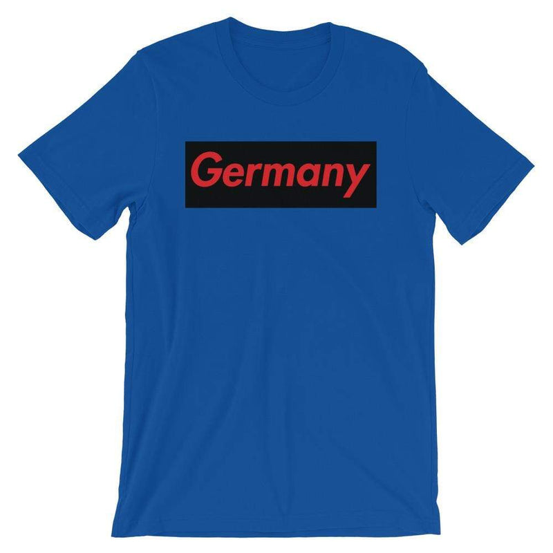 Repparel Germany True Royal / S Hypebeast Streetwear Eco-Friendly Full Cotton T-Shirt