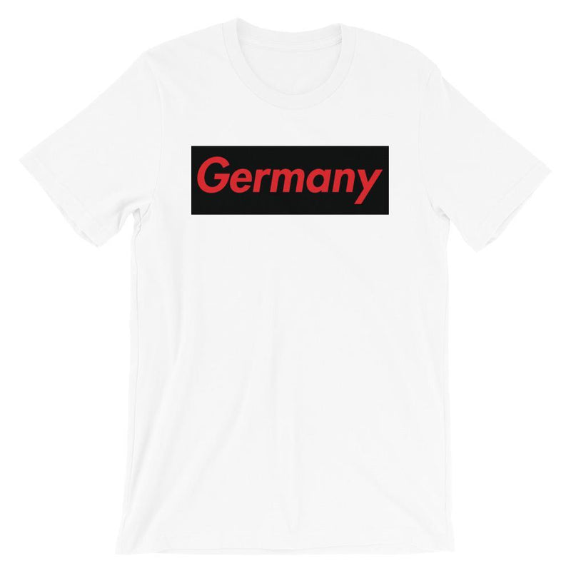Repparel Germany White / XS Hypebeast Streetwear Eco-Friendly Full Cotton T-Shirt