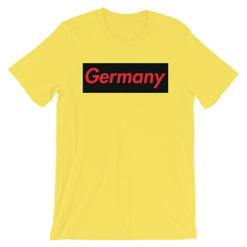 Repparel Germany Yellow / S Hypebeast Streetwear Eco-Friendly Full Cotton T-Shirt