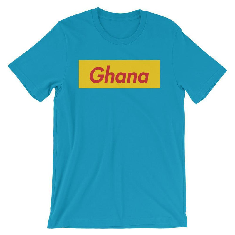 Repparel Ghana Aqua / S Hypebeast Streetwear Eco-Friendly Full Cotton T-Shirt