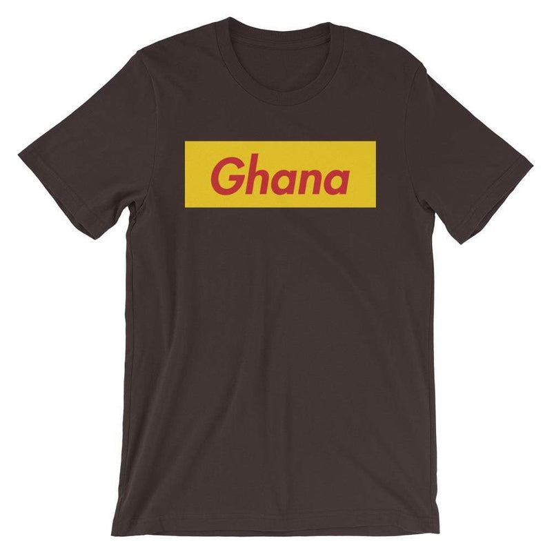 Repparel Ghana Brown / S Hypebeast Streetwear Eco-Friendly Full Cotton T-Shirt