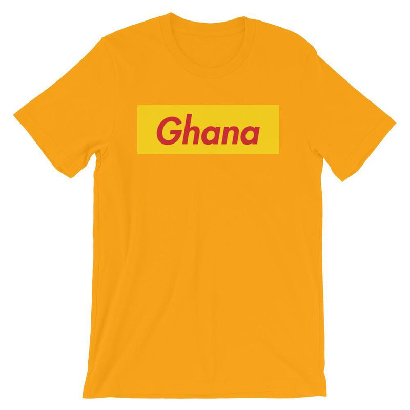 Repparel Ghana Gold / S Hypebeast Streetwear Eco-Friendly Full Cotton T-Shirt