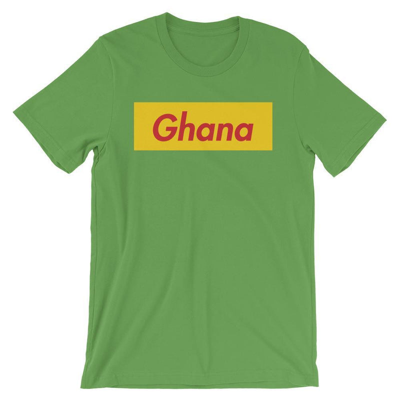 Repparel Ghana Leaf / S Hypebeast Streetwear Eco-Friendly Full Cotton T-Shirt