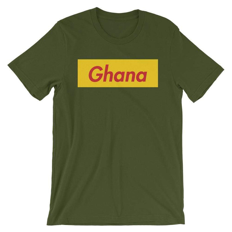 Repparel Ghana Olive / S Hypebeast Streetwear Eco-Friendly Full Cotton T-Shirt