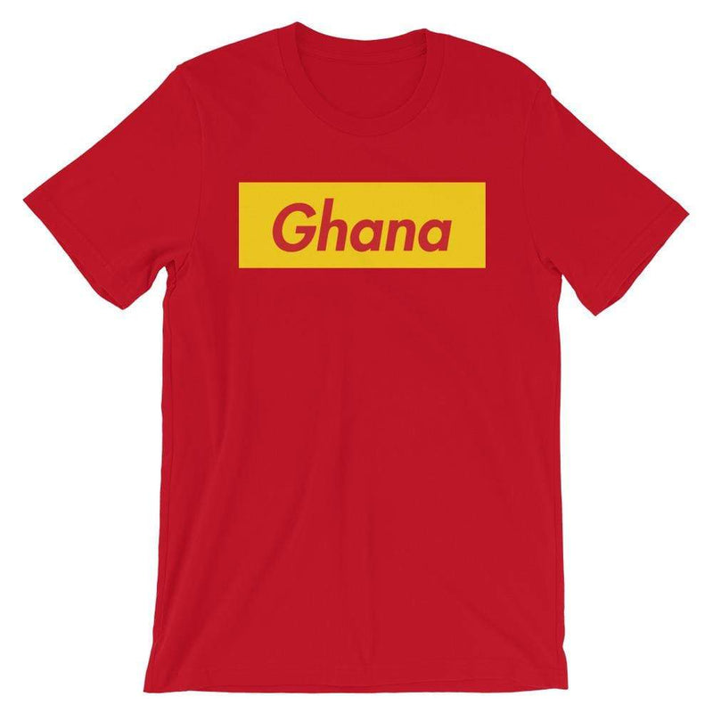 Repparel Ghana Red / S Hypebeast Streetwear Eco-Friendly Full Cotton T-Shirt