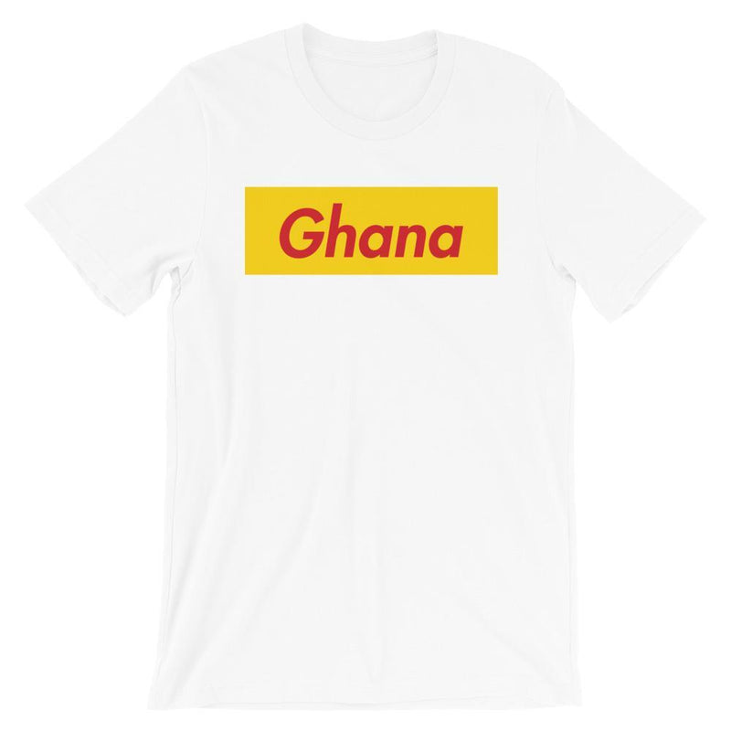 Repparel Ghana White / XS Hypebeast Streetwear Eco-Friendly Full Cotton T-Shirt