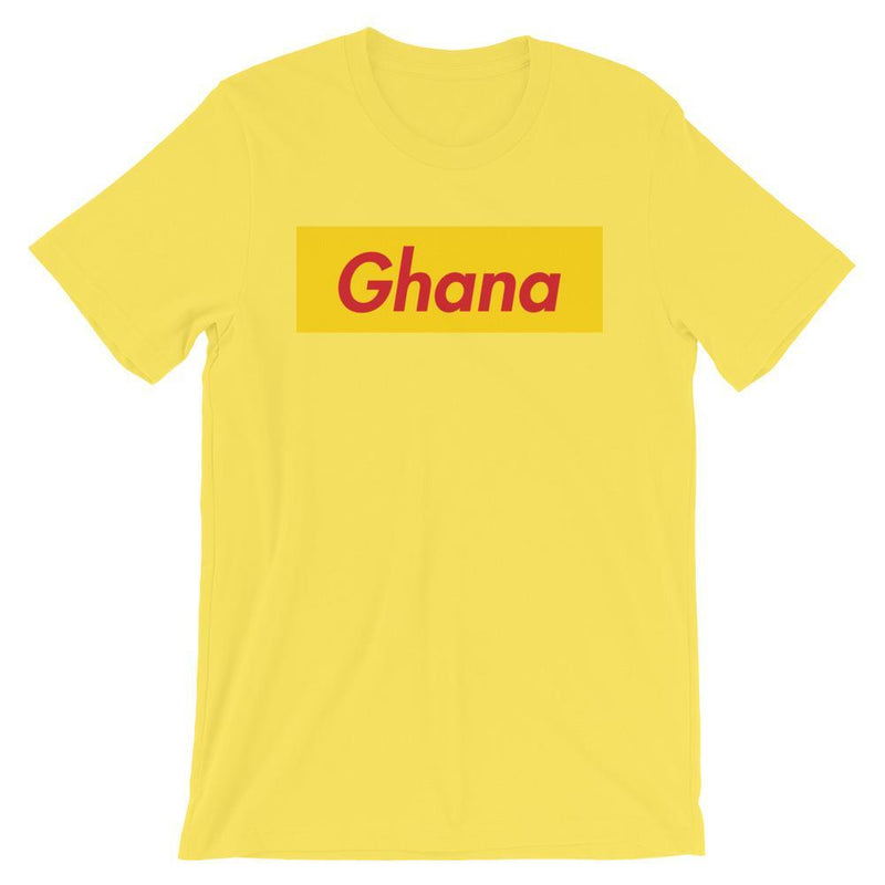Repparel Ghana Yellow / S Hypebeast Streetwear Eco-Friendly Full Cotton T-Shirt