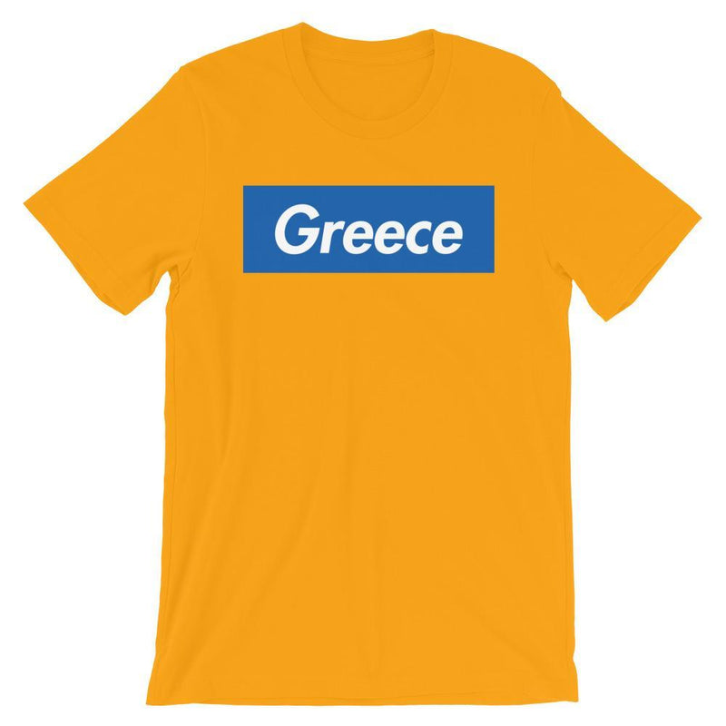 Repparel Greece Gold / S Hypebeast Streetwear Eco-Friendly Full Cotton T-Shirt