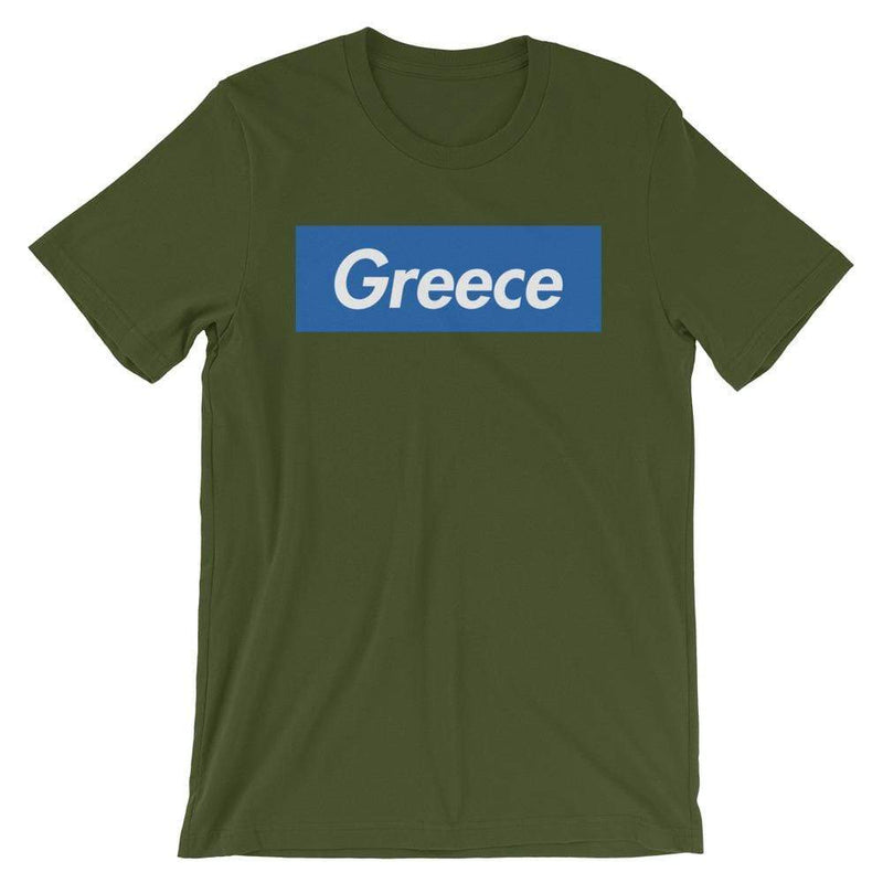 Repparel Greece Olive / S Hypebeast Streetwear Eco-Friendly Full Cotton T-Shirt