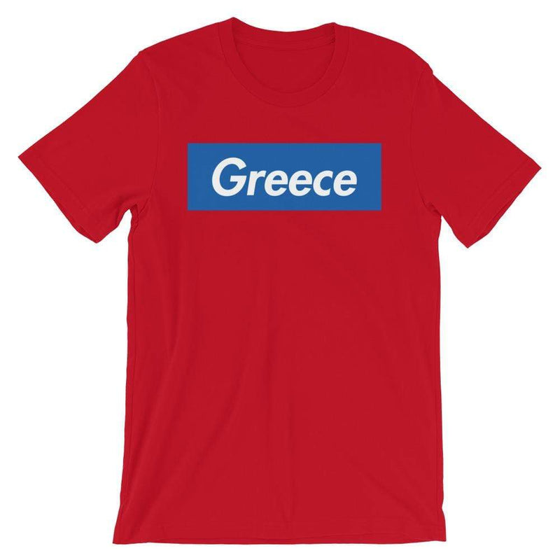 Repparel Greece Red / S Hypebeast Streetwear Eco-Friendly Full Cotton T-Shirt