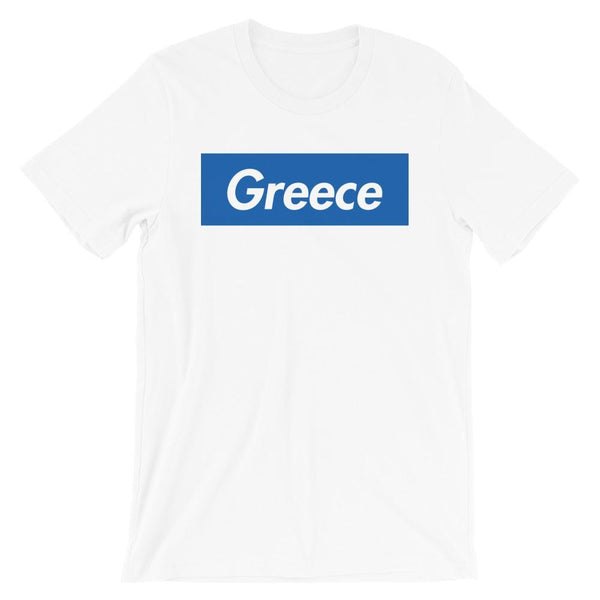 Repparel Greece White / XS Hypebeast Streetwear Eco-Friendly Full Cotton T-Shirt