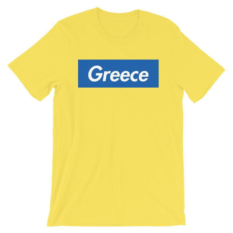 Repparel Greece Yellow / S Hypebeast Streetwear Eco-Friendly Full Cotton T-Shirt