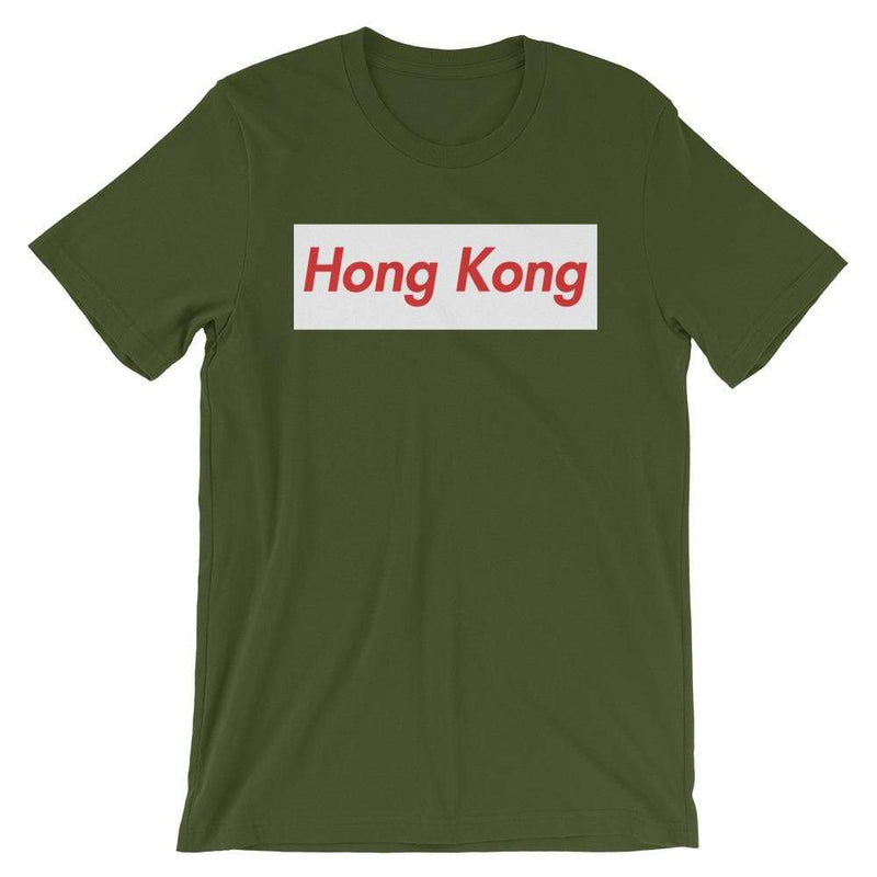 Repparel Hong Kong Olive / S Hypebeast Streetwear Eco-Friendly Full Cotton T-Shirt