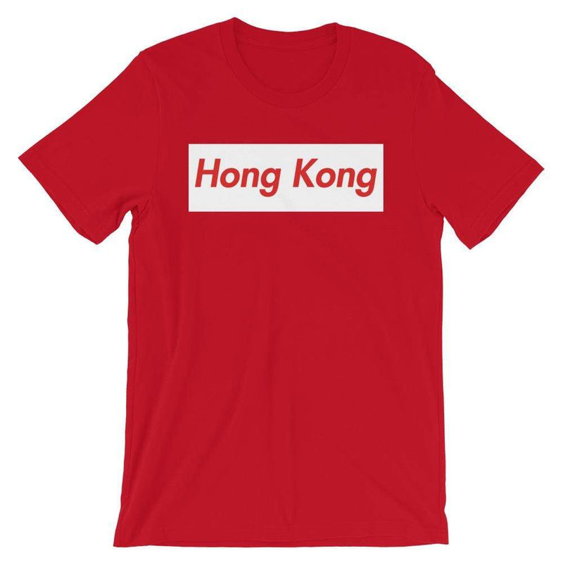 Repparel Hong Kong Red / S Hypebeast Streetwear Eco-Friendly Full Cotton T-Shirt
