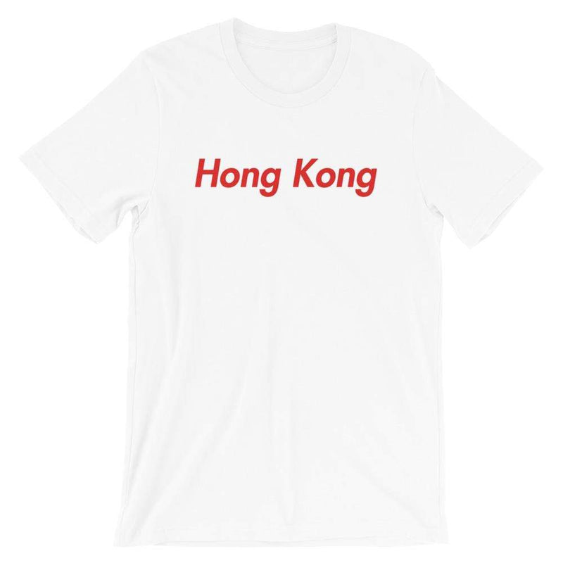 Repparel Hong Kong White / XS Hypebeast Streetwear Eco-Friendly Full Cotton T-Shirt