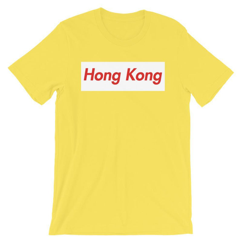Repparel Hong Kong Yellow / S Hypebeast Streetwear Eco-Friendly Full Cotton T-Shirt
