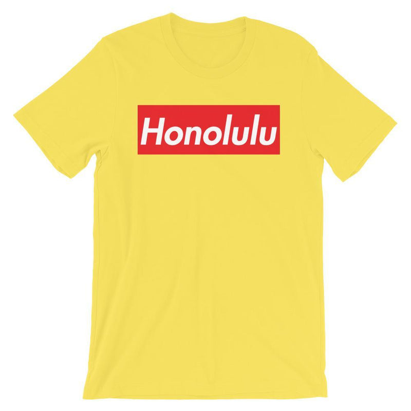 Repparel Honolulu Yellow / S Hypebeast Streetwear Eco-Friendly Full Cotton T-Shirt
