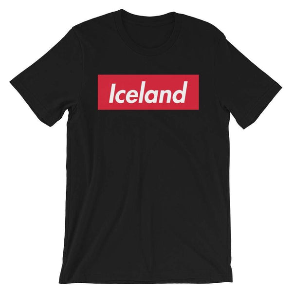 Repparel Iceland Black / XS Hypebeast Streetwear Eco-Friendly Full Cotton T-Shirt