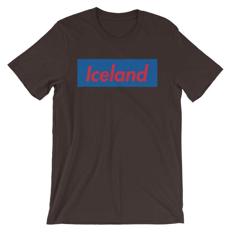 Repparel Iceland Brown / S Hypebeast Streetwear Eco-Friendly Full Cotton T-Shirt