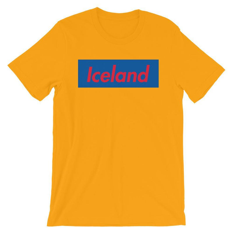 Repparel Iceland Gold / S Hypebeast Streetwear Eco-Friendly Full Cotton T-Shirt