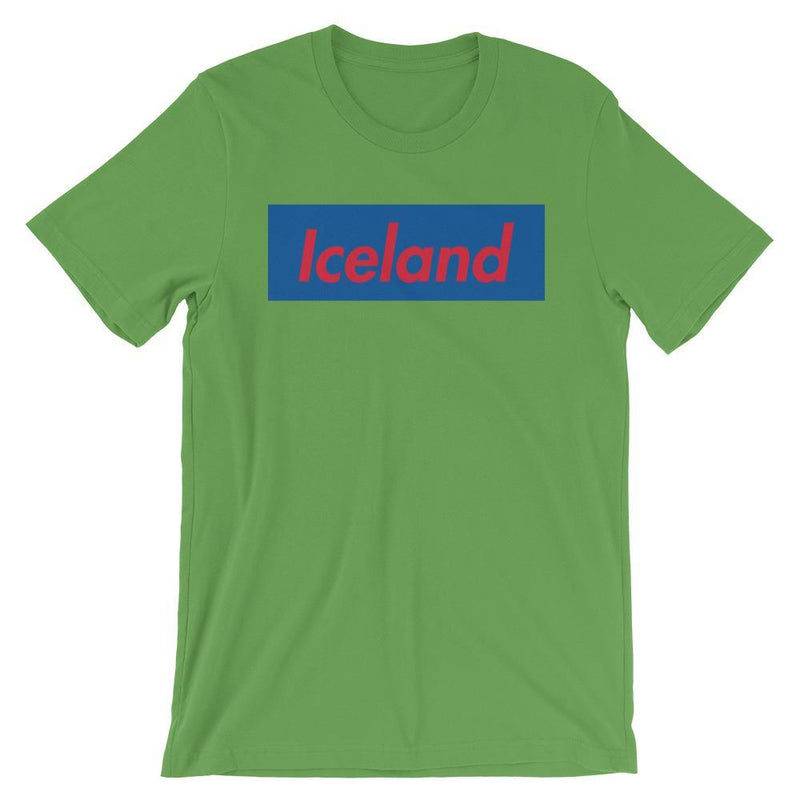Repparel Iceland Leaf / S Hypebeast Streetwear Eco-Friendly Full Cotton T-Shirt
