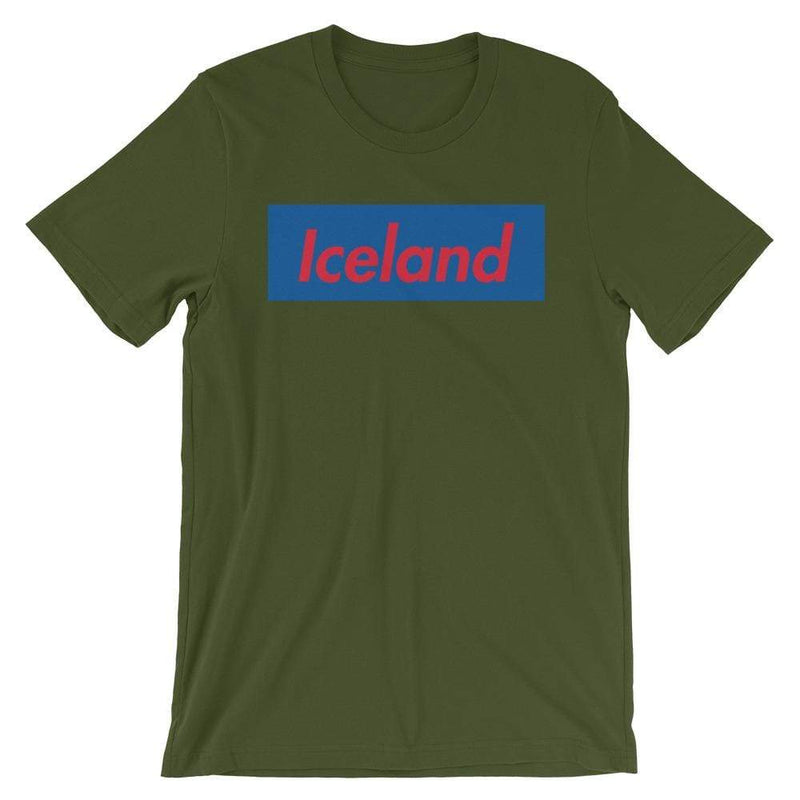 Repparel Iceland Olive / S Hypebeast Streetwear Eco-Friendly Full Cotton T-Shirt