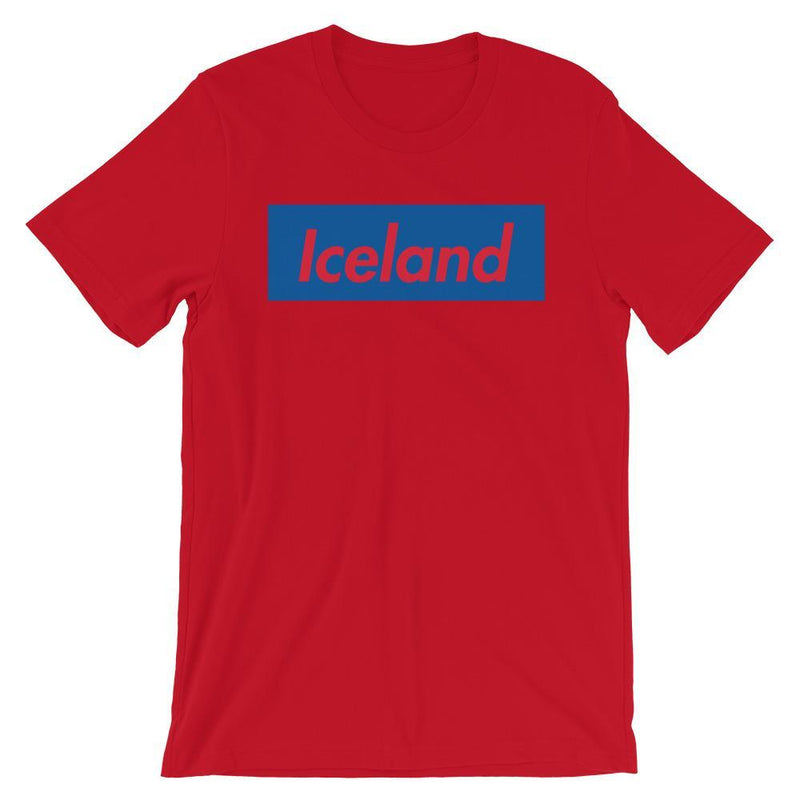 Repparel Iceland Red / S Hypebeast Streetwear Eco-Friendly Full Cotton T-Shirt