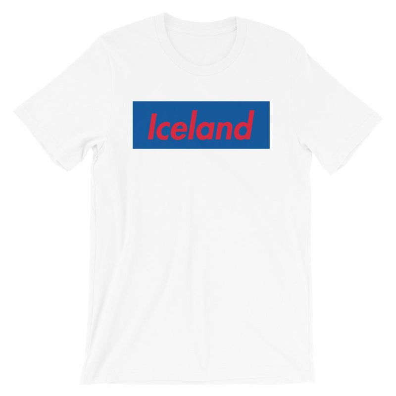 Repparel Iceland White / XS Hypebeast Streetwear Eco-Friendly Full Cotton T-Shirt