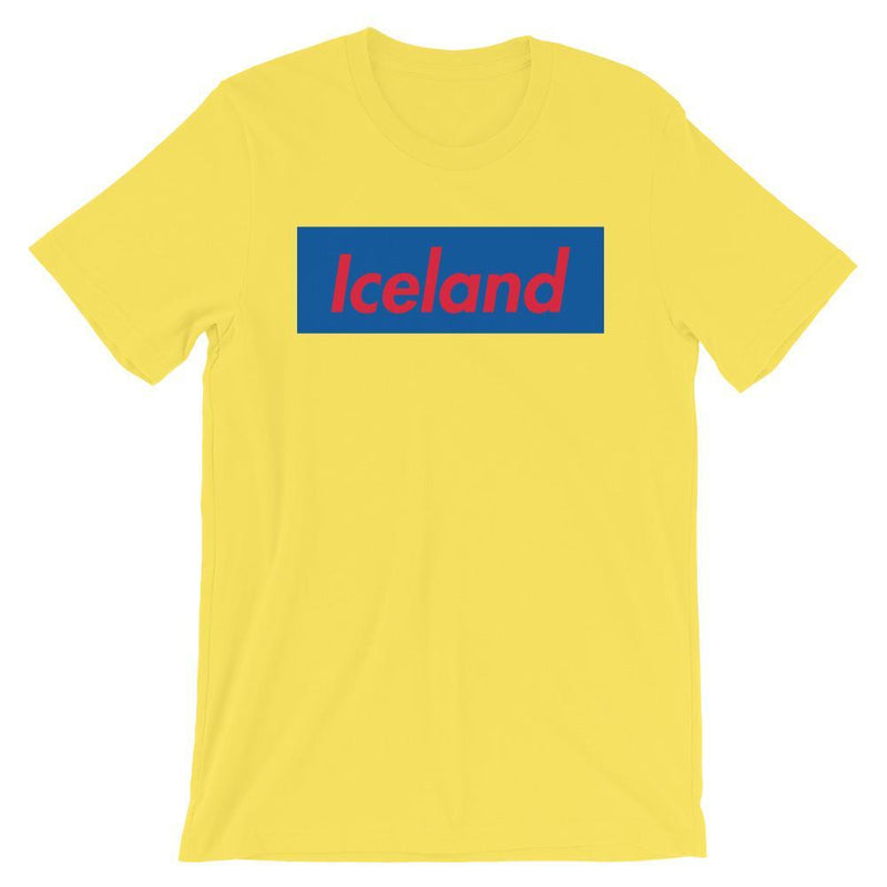 Repparel Iceland Yellow / S Hypebeast Streetwear Eco-Friendly Full Cotton T-Shirt